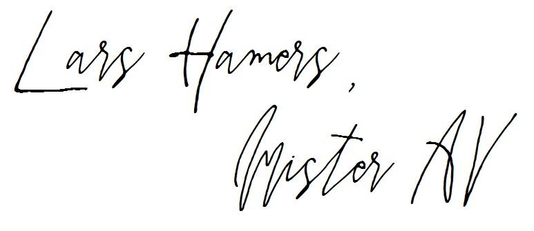 Mister AV - Lars Hamers